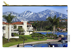 Lake Mission Viejo Snow On Saddleback Mountain Carry-all Pouch