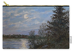 Lake Moonrise Carry-all Pouch