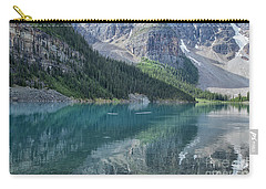 Carry-all Pouch featuring the photograph Lake Moraine by Patricia Hofmeester