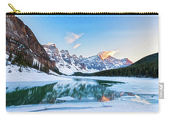 Lake Moraine Sunset Carry-all Pouch
