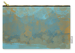 Carry-all Pouch featuring the digital art Lake Mountain by Jessica Wright