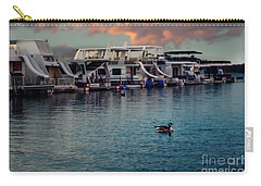 Lake Murray Morning At The Marina Carry-all Pouch by Tamyra Ayles