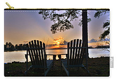 Carry-all Pouch featuring the photograph Lake Murray Relaxation by Lisa Wooten