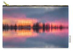 Carry-all Pouch featuring the photograph Lake Norman Sunset by Ronald Santini