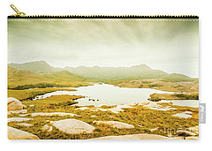 Lake On A Mountain Carry-all Pouch