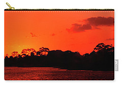 Lake Osborne Sunset Carry-all Pouch
