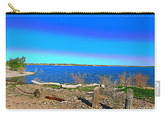 Lake Pueblo Painted Carry-all Pouch