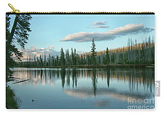 Lake Reflections Carry-all Pouch by Myrna Bradshaw