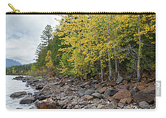 Carry-all Pouch featuring the photograph Lake Shore by Fran Riley
