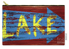 Lake Sign Carry-all Pouch