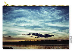 Lake Sunset Carry-all Pouch by Scott Meyer