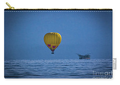 Lake Tahoe Balloon Carry-all Pouch by Mitch Shindelbower