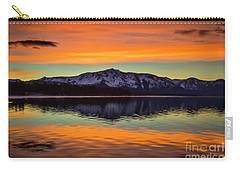 Lake Tahoe Glow Carry-all Pouch