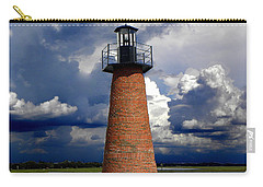 Lake Toho Lighthouse 002  Carry-all Pouch by Chris Mercer