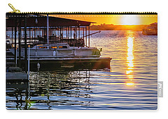 Carry-all Pouch featuring the photograph Lake Travis by Walt Foegelle