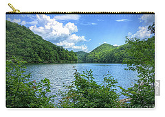 Carry-all Pouch featuring the photograph Lake View Splendor  by Kerri Farley