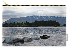 Carry-all Pouch featuring the photograph Lake Wanaka,queenstown, New Zealand by Yurix Sardinelly