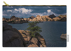 Carry-all Pouch featuring the photograph Lake Watson Prescott Arizona 2498 by David Haskett