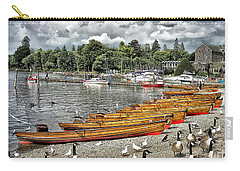Carry-all Pouch featuring the photograph Lake Windamere by Walt Foegelle