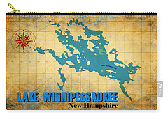 Lake Winnipessaukee New Hampshire Vintage Print  Carry-all Pouch
