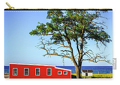 Carry-all Pouch featuring the photograph Lakefront In Glen Arbor by Alexey Stiop
