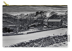 Carry-all Pouch featuring the photograph Lakeland Barn by Keith Elliott