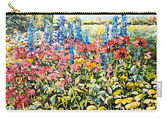 Lakeside Garden Carry-all Pouch by Alexandra Maria Ethlyn Cheshire