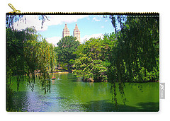 Lakeside In Manhattan, New York Carry-all Pouch