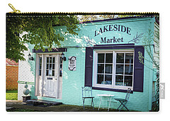 Carry-all Pouch featuring the photograph Lakeside Market by Doug Camara