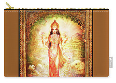 Lakshmi Goddess Of Fortune With Lighter Frame Carry-all Pouch