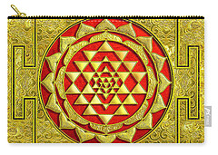 Lakshmi Kubera Yantra Carry-all Pouch
