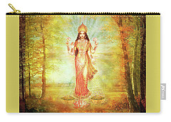Lakshmi - Vision In Golden Autumn Forest Carry-all Pouch