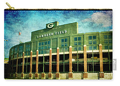 Lalalalala Lambeau Carry-all Pouch by Joel Witmeyer