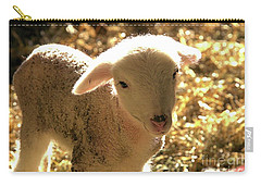 Lamb All Aglow Carry-all Pouch