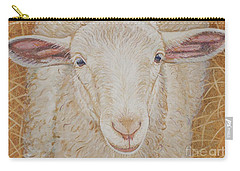 Lamb Of God Carry-all Pouch by Christine Belt