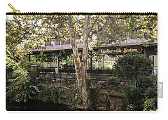 Lambertvill Station Inn Carry-all Pouch by Judy Wolinsky