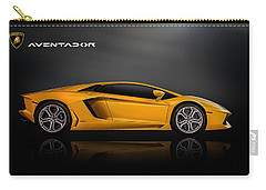 Lamborghini Aventador Carry-all Pouch by Douglas Pittman
