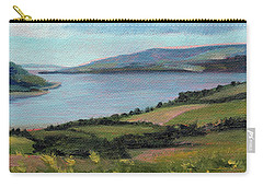 Lamlash - Facing Holy Isle Carry-all Pouch
