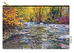 Lamoille Creek In Fall 2329 Carry-all Pouch