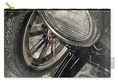 Carry-all Pouch featuring the photograph Vintage Car #3124 by Andrey  Godyaykin