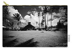 Carry-all Pouch featuring the photograph Lanakila Ihiihi O Iehowa O Na Kaua Church Keanae Maui Hawaii by Sharon Mau