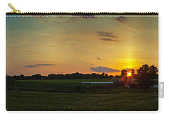 Lancaster Farm Sunset Panorama Carry-all Pouch