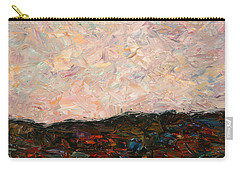 Land And Sky Carry-all Pouch by James W Johnson