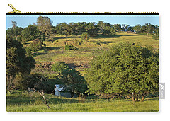 Carry-all Pouch featuring the photograph Land Of Blue House by Michele Myers