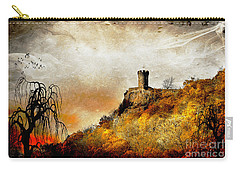 Carry-all Pouch featuring the photograph Land Of Forgotten Kingdoms by Kathy Baccari