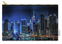 Carry-all Pouch featuring the photograph Land Of Tall Buildings by Theodore Jones