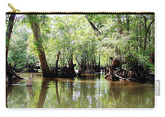 Carry-all Pouch featuring the photograph Land Of The Lost by Debra Forand