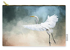 Landing At Dawn Carry-all Pouch by Cyndy Doty