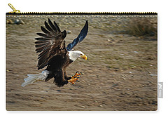 Landing Gear Down - 365-300 Carry-all Pouch by Inge Riis McDonald
