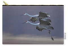 Carry-all Pouch featuring the photograph Landing Gear Down by Shari Jardina